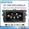 Automobile DVD GPS per Toyota Corolla 2007-2013 con l'audio radio