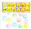 Штемпель Stamper Emoji игрушки 12 малышей детей OEM цветастый
