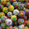 Juguete de la bola de la espuma de 4 cm para los niños del gato del perro de animal doméstico