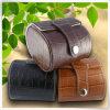 Caixa de relógio de varejo de couro do plutônio da melhor escolha