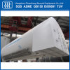 Tanque de armazenamento criogênico industrial de Honrizontal do equipamento do gás