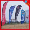 Bandera de las banderas de playa de Advantising del poliester de Customed con diseño libre