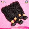 Cabelo Curly profundo brasileiro de Virin das extensões do cabelo do Afro da fábrica do cabelo de Henan