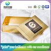 Contenitore di regalo impaccante di verniciatura UV di stampa del documento di cura di pelle di bellezza