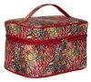 Nuova signora professionale Cosmetic Bag di volo di corsa della tela di canapa