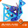 Magplayer 46 Pieces 3D Puzzle Toys/Fun Magnetic Construction Toys