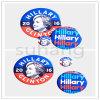 Botones de Pinback del imán del botón de Hillary para el voto de América