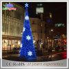 Luz ao ar livre da decoração do feriado da árvore do diodo emissor de luz 3D do Natal da rua