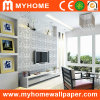 Silver moderno Wall Paper para Interior Decoration