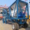 Ce, Mobiele Concrete het Mengen zich van de Aanhangwagen ISO9001 Installatie Yhzs50