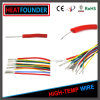 Alambre eléctrico del cable flexible del caucho de silicón de Awm 24AWG UL3172