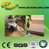 Decking compuesto plástico de madera popular y barato de la buena calidad