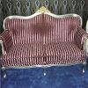 ファブリック縞2のSeatersの現代ソファー