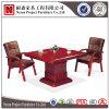 標準的な純木のベニヤの正方形の会議の会合表(NS-SL132)