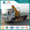 XCMG Crane를 가진 Isuzu 4*2 130HP Crane Lorry Truck