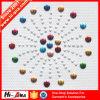 Vereenvoudigde Sourcing bij Concurrerende Schedel van Hotfix van het Bergkristal van de Kleuren van Prijzen Diverse