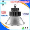Indicatore luminoso chiaro 100W della baia di Highbay LED LED di prezzi di fabbrica alto
