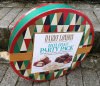 Rectángulos de regalo promocionales de sellado calientes Shaped redondos de la cartulina del caramelo de la insignia