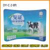 3*3m réutilisent le stand incurvé d'exposition de tissu de tension (DY-C-8)