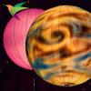 Nueva luz decorativa inflable de la bola que contellea Iflt-031 para la venta