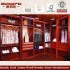 Guardaroba montato camera da letto di lusso di legno solido (GSP9-014)