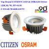 MAZORCA embutida LED Downlight del ciudadano 30W con el programa piloto aislado Osram