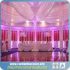 El tubo de aluminio y cubre la tienda de la boda del contexto de China