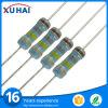 Resistor de película del componente electrónico con la muestra libre