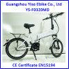 Электрические урбанские Bikes e складывая с мотором кривошипно шатунный привод 250W