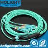 MPO aan Om3 de Optische Kabel van de Vezel van de Boomstam LC