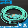 MPO к кабелю оптического волокна хобота LC Om3