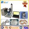 Machine 110*110mm 3D Jewellary d'inscription de laser en métal de fibre de Jinan 20W