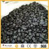 Guijarro negro de piedra natural sin pulir del río para la pavimentación del jardín