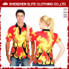 Camisas de polo sublimadas ajuste de Dri para los hombres y las mujeres (ELTMPJ-612)