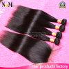Bestes peruanisches Jungfrau-Haar gerade mit Schliessen 3 Bündel peruanische gerade Spitze-Schliessen-mit dem Haar rollt peruanisches Menschenhaar zusammen