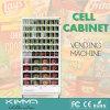 64 artigos embalados Vending do gabinete da pilha dos cacifos das pilhas