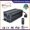 315W reconnus par UL CMH élèvent le ballast électronique léger pour la culture hydroponique