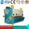 최신 CNC 공작 기계 유압 금속 격판덮개 깎는 기계 또는 장 절단기 25*2000mm