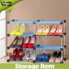 Gabinete de armazenamento plástico da sapata da sala de visitas impermeável pequena simples
