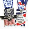 Medalla de encargo barata de la concesión del indicador nacional de la aleación del cinc