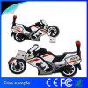 Lecteur flash USB en caoutchouc 8GB de la moto 3D faite sur commande de transport gratuit