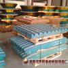 Placa machacante movible y fija (el Mn18%) para las trituradoras de quijada