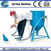 Tipo portable crisol de la succión de la máquina del chorreo de arena