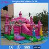 Bouncer della principessa Bouncy Slide Castle Jumping con la trasparenza