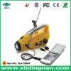 셀룰라 전화 충전기 (XLN-288DS)를 가진 태양과 다이너모 라디오 플래쉬 등