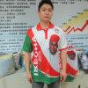 Coton Polo T-Shirt avec Full Design Printing pour Vote (HYS-098)
