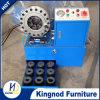 Frisador poderoso portátil reduzido preço de friso da mangueira da máquina da mangueira hidráulica