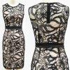 Платье Sequins вышивки повелительниц безрукавный (1-058-30)
