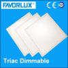 595*595 38W 120lm/W TRIAC Dimmable LED quadratische Instrumententafel-Leuchte