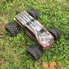 carro sem escova elétrico do passatempo RC da energia 4WD eléctrica